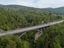 Brückeninspektion Luftaufnahme Drohne 2