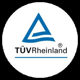 Tüv Rheinland Logo rund