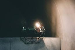Inneninspektion Drohne Brennkammer